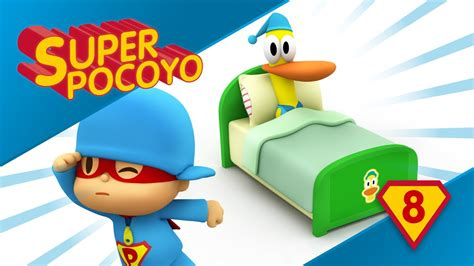 Super Pocoyo shows us the importance of a good sleep - YouTube