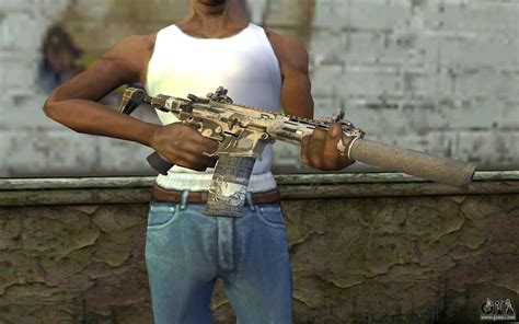 HoneyBadger from CoD Ghosts for GTA San Andreas