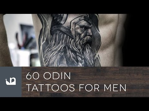 5 Ideas of Odin's Tattoos for Odin Worshippers   Viking