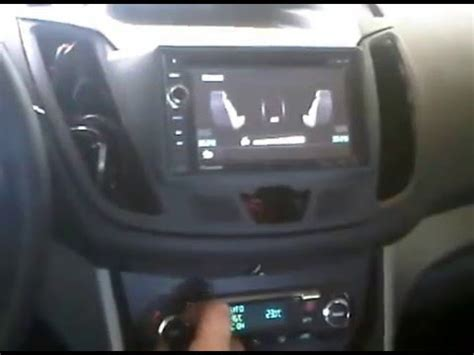 Ford C Max 2012 with 2 din navi - YouTube