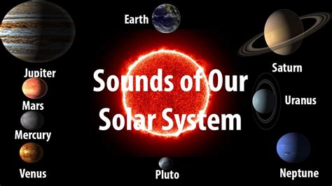 Sound of Planets in our Solar System -[NASA] Sun to Pluto