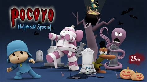 Pocoyo Halloween: Spooky Movies for Kids - 25 minutes of