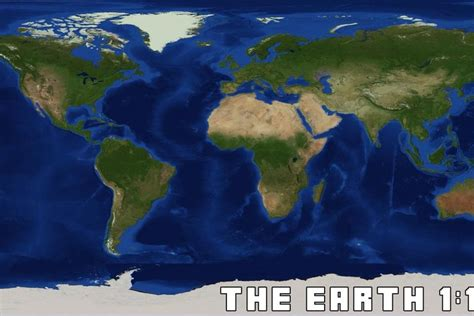 Re-creating Earth in 1:1500 scale in Minecraft - The Verge