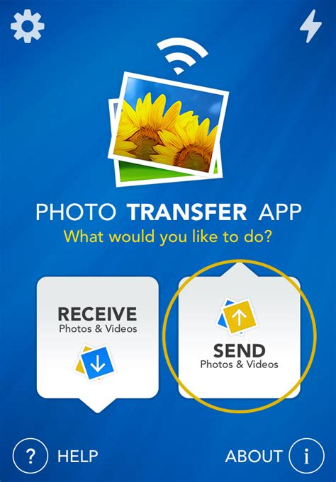 Photo Transfer App   iPhone Help Pages - Transfer from