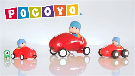Pocoyo Toys: Discover and play with Pocoyo's race cars
