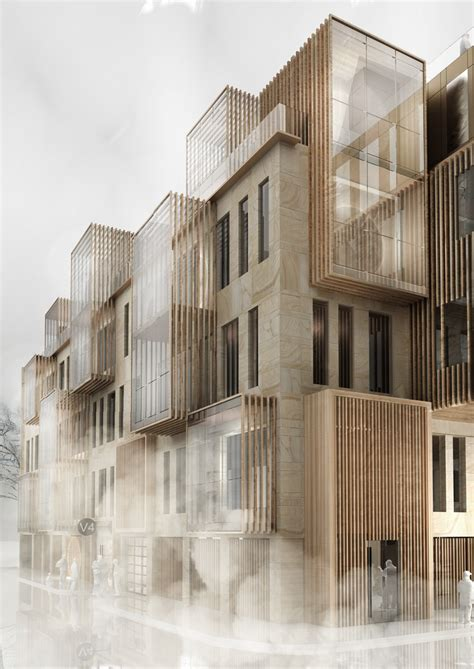 New Apartment Building in UNESCO World Heritage Site in