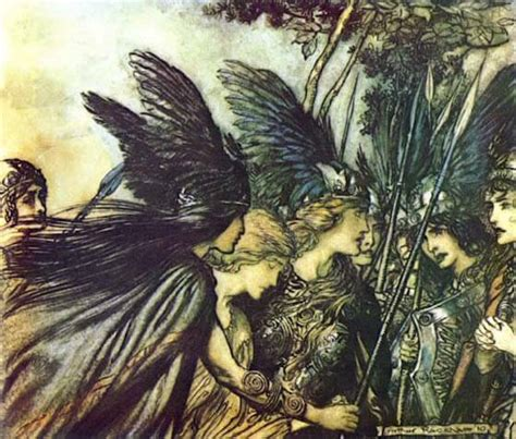 Meaning, origin and history of the name Brünhild - Behind