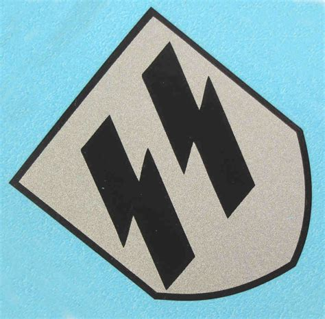Quist SS Runes Decal Early WW2 1938 & 1939