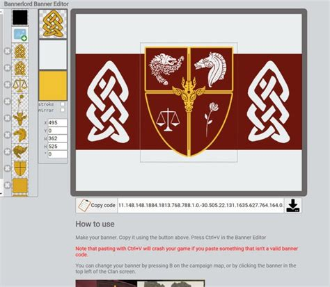 Mount And Blade Warband How To Create Your Own Banner