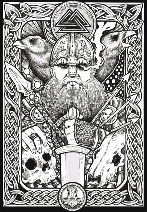 Happy Wednesday!!!! (Glædelig Onsdag!!!!) Odin and His