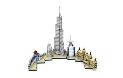 Are these the 7 best custom LEGO Architecture Skylines