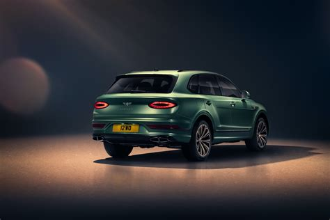 The 2021 Bentley Bentayga Gets A Substantial Facelift With