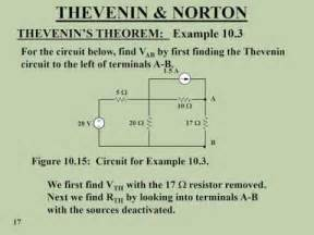 Thevenin and Norton Theorem with Examples - YouTube