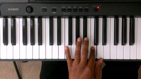 """""""D"""" Minor Scale On Piano - Piano Scale Lessons (Right and"""