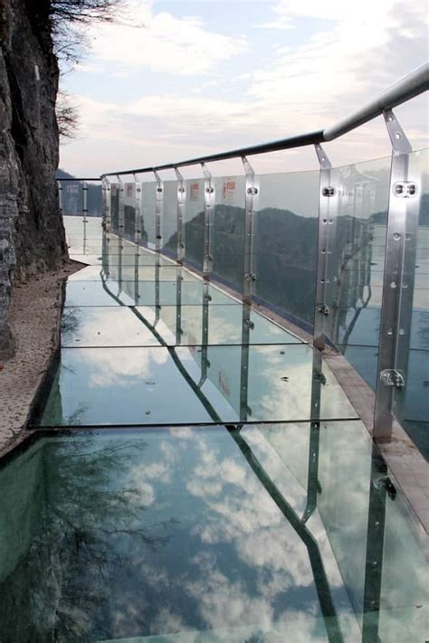 Glass Bridge: A Perfect Instrument to Terrify People