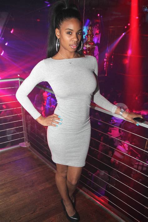 Sheneka Adams Parties at Tongue & Groove Monday (Pictures