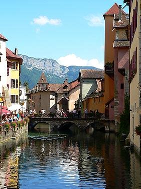 Annecy France travel and tourism, attractions and