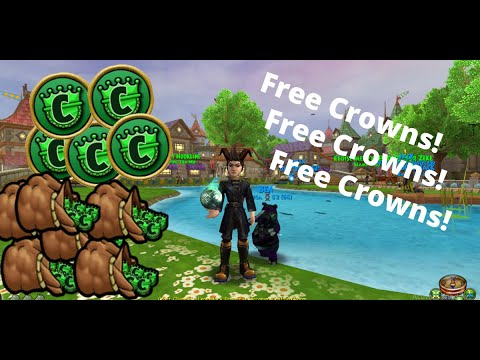 Wizard101 code for 60000 crowns! x EXPIRED x - YouTube