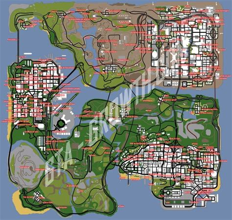 Gta San Andreas Oysters Map - Maps For You