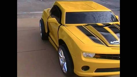 The Most Amazing Bumblebee Transformer Costume 2012 - YouTube