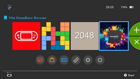 SwitchView UI publicly released for the Vita - Give your