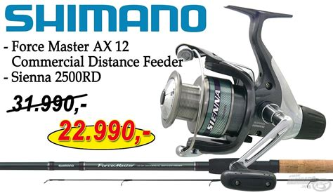 SHIMANO Force Master AX 12 Commercial Distance Feeder