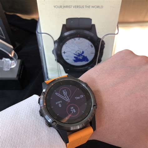 Garmin sets new heights for the all new Fenix 5 Plus