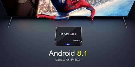 Alfawise A8 TV BOX – ÚJ Android 8
