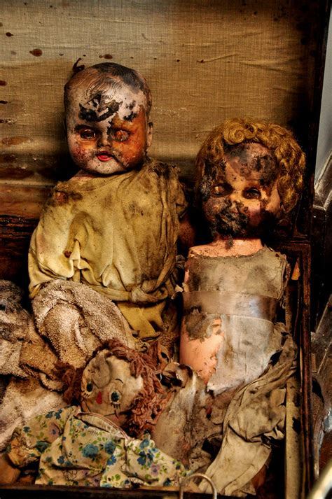 In the Asylum - Dolls of Former Patients | for ODC3: Five