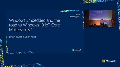 Windows Embedded and the road to Windows 10 IoTCore