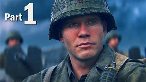 Call of Duty WW2 Walkthrough Gameplay Part #1 - Campaign