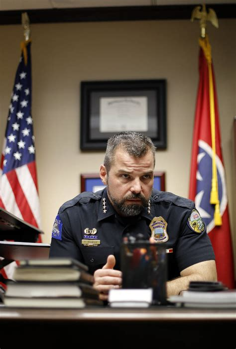 Chattanooga police Chief David Roddy's first year marked