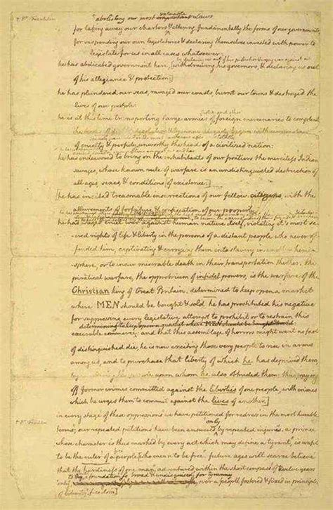 Pictures of the Declaration of Independence