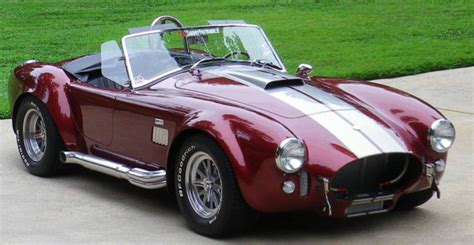 Shelby Superformance Cobra Roadster 1965 Sunset Red with