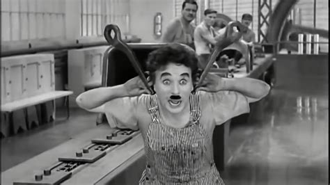 Chaplin Modern Times Factory Scene late afternoon - YouTube