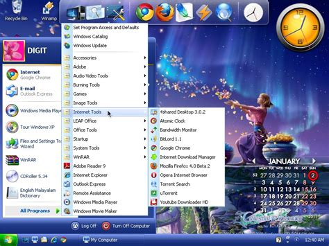 Supported operating systems: Windows XP Home Edition