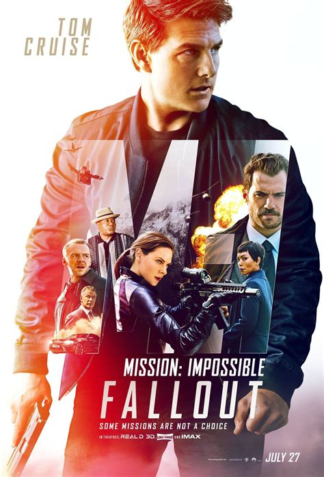 Mission: Impossible - Fallout Release Date, Cast, Trailers