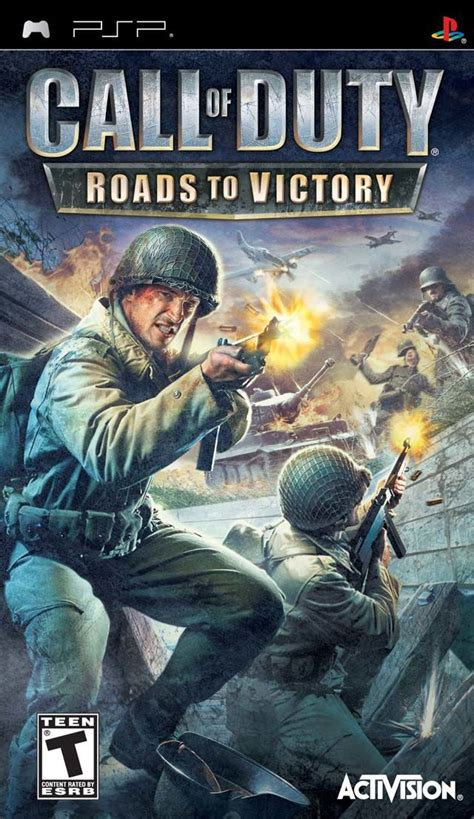 Call of Duty: Roads to Victory for PSP (2007) - MobyGames