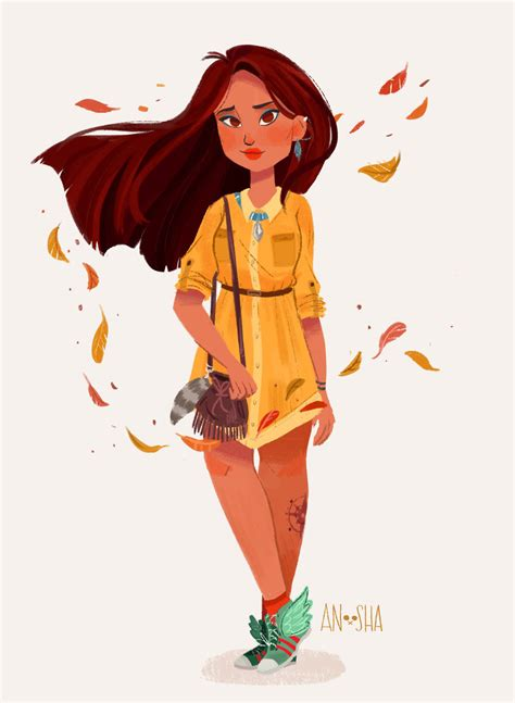 Disney Princesses As Modern Day Girls Living In The 21st