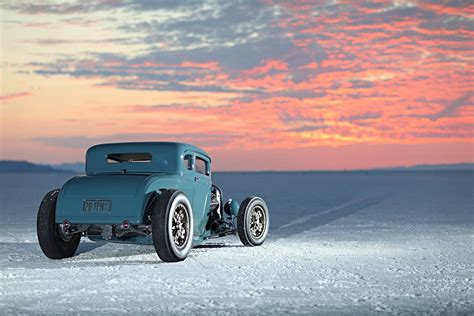 """Hot Rodded Art Deco—Ted Hubbard's """"Afterthought"""" Model A"""